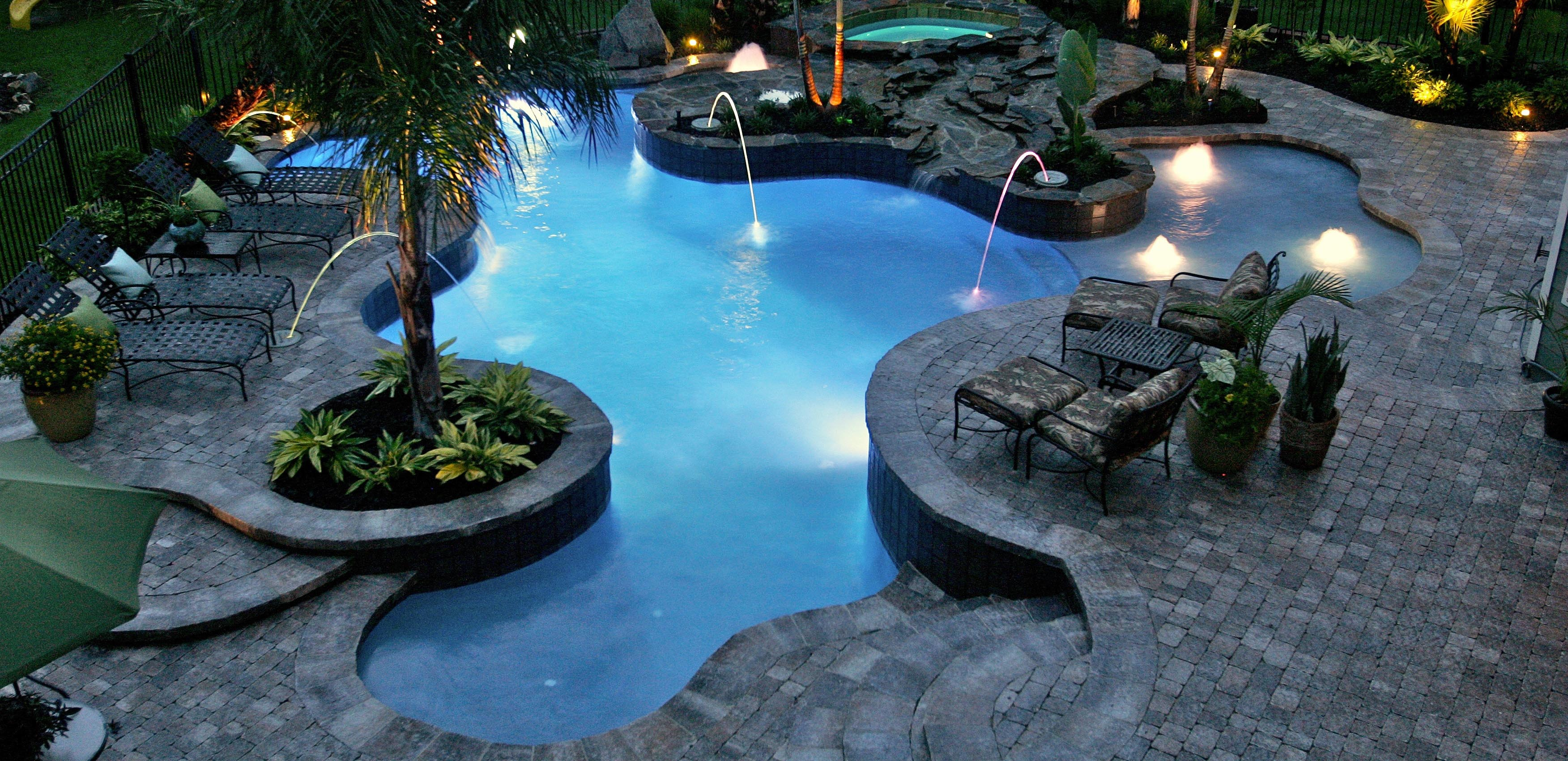 Custom Pool Builder Central Florida And