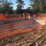 fall and winter new pool construction